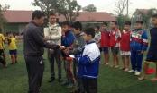 Hà Tĩnh: Giao lưu bóng đá cuối năm ủng hộ trẻ em nghèo