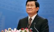 Lời chúc tết của Chủ tịch nước Trương Tấn Sang