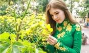 Ngắm hot girl tuổi Thân Lily Luta xinh đẹp trong tà áo dài truyền thống