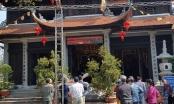 Vãn cảnh ngôi chùa có hệ thống tượng thờ bằng đồng nguyên khối