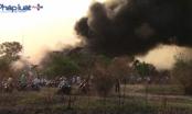 Bình Dương: Cháy kinh hoàng tại vựa ve chai