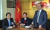 Lãnh đạo Bộ Tư pháp thăm, chúc mừng báo PLVN dịp đầu xuân