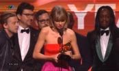 Grammy Adwards 2016: Taylor Swift hạnh phúc dâng trào giành giải Album của năm