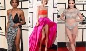 """Loạt trang phục """"nóng bỏng mắt"""" của sao Hollywood tại Grammy 2016"""