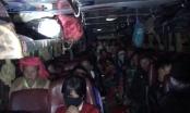 Ninh Bình: Phát hiện xe khách chở quá 27 người