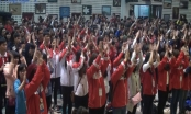 Ra quân Lễ hội Xuân hồng 2016: Tình nguyện viên hô vang lời quyết tâm