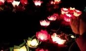 Yên Bái: Mãn nhãn ngắm Lễ hội Thả hoa đăng trên sông Chảy