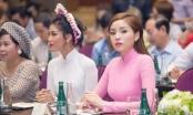Hoa hậu Kỳ Duyên, Lan Khuê thướt tha trong tà áo dài truyền thống