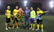 Ra mắt CLB Bóng đá Báo chí Nghệ An tại Hà Nội