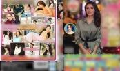 Nóng: Hoa hậu Kỳ Duyên sững sờ khi bị ghép ảnh quảng cáo phim người lớn