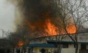 Bắc Ninh: Lửa cháy ngùn ngụt tại xưởng gỗ trong khu công nghiệp Quế Võ, ước thiệt hại khoảng 12 tỷ đồng