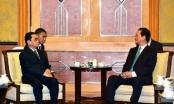 Thủ tướng Nguyễn Tấn Dũng làm việc với Thủ tướng Lào