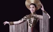 Á hậu Thùy Trang duyên dáng làm mẫu ảnh cho những thiết kế thời trang của sinh viên
