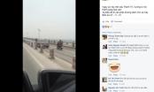 Hà Nội: Xe biển đỏ lao vun vút trong làn xe thô sơ
