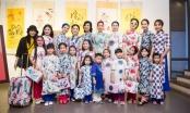 Hoa hậu Ngọc Hân giới thiệu bộ sưu tập áo dài Chim công