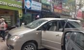 Hà Nội: Vi phạm giao thông, tài xế Innova bỏ chạy gây náo loạn nhiều tuyến phố