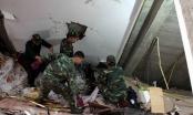 Cận cảnh vụ tai nạn sập nhà khiến 3 người chết tại Cao Bằng