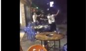 Clip: Hỗn chiến kinh hoàng trong quán nhậu ở Sài Gòn