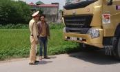 Hà Nội: Công an Huyện Thường Tín ra quân xử lý xe quá khổ, quá tải