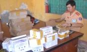 Nghệ An: Thu giữ lô hàng linh kiện điện thoại, máy tính bảng trị giá gần 1 tỷ đồng trên xe khách
