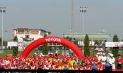 Khai mạc vòng sơ tuyển trại hè bóng đá thiếu niên Toyota 2016