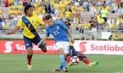 Toàn cảnh Brazil - Ecuador: Bất phân thắng bại