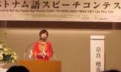 Nữ sinh Nhật Bản trổ tài hùng biện bằng tiếng Việt gây bão mạng