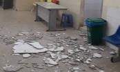 """Hà Nội: Giám đốc bệnh viện Nhi lên tiếng vụ """"sập trần nhà"""""""