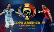 Toàn cảnh Argentina vs Chile: Argentina thăng hoa