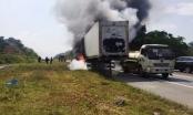 Những cú phanh gấp chết người khiến dàn lốp xe bốc cháy