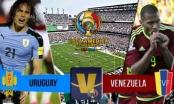 Toàn cảnh Uruguay vs Venezuela: Thất bại cay đắng
