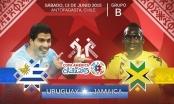 Uruguay vs Jamaica: Chiến thắng an ủi (KT)