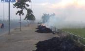 Bản tin Giao thông Plus ngày 15/06/2016: Tiềm ẩn nguy cơ tai nạn giao thông do đốt rơm, rạ