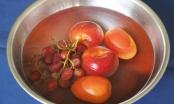 4 cách đơn giản khử độc tố cho rau củ