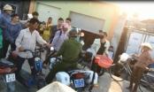 Thanh Hóa: Công an huyện Hậu Lộc xịt hơi cay vào mặt người tham gia giao thông