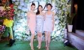 Dàn chân dài tới chúc mừng Hoa hậu Diệu Linh lên chức bà chủ