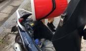 Hà Nội: Xe Liberty bỗng dưng bốc cháy khi đang chạy