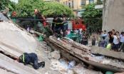Toàn cảnh giải cứu các nạn nhân sau vụ nhà sập tại 43 Cửa Bắc