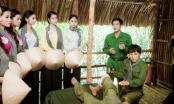 Thí sinh Hoa hậu Việt Nam diện áo bà ba thăm chiến khu rừng Sác, Cần Giờ