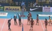 Giải bóng chuyền nữ Châu Á năm 2016: Tuyển Việt Nam nhọc nhằn giành chiến thắng trước Iran