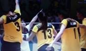 Giải bóng chuyền nữ châu Á năm 2016: Tỷ số 3- 2, Tuyển Việt Nam thăng hoa, chiến thắng Đài Loan ngược dòng