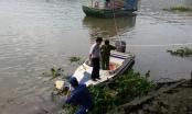 TP HCM: Thi thể người đàn ông mang ba lô đầy đá nổi trên sông