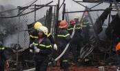 Cháy lớn trong Làng Đại Học, thiệt hại hàng trăm triệu đồng