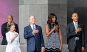 Tổng thống Obama làm 'phó nháy' cho cựu Tổng thống Bush