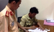 Sau khi bị kiểm tra nồng độ cồn, tài xế lùi xe khiến một CSGT phải nhập viện