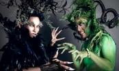 Ngắm bộ ảnh mùa Halloween siêu độc của Phan Hiển, Wang Trần