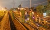 Băng ngang đường ray, một người bị tàu hỏa tông tử vong