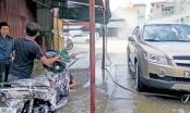 Điểm báo ngày 5/12/2016: Cơ sở rửa xe ngơ ngác quy định nộp phí nước thải