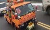 Vĩnh Phúc: Đoàn xe cứu hộ giao thông rước dâu