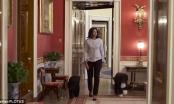 Bà Michelle Obama cùng chó cưng đi dạo lần cuối tại Nhà Trắng